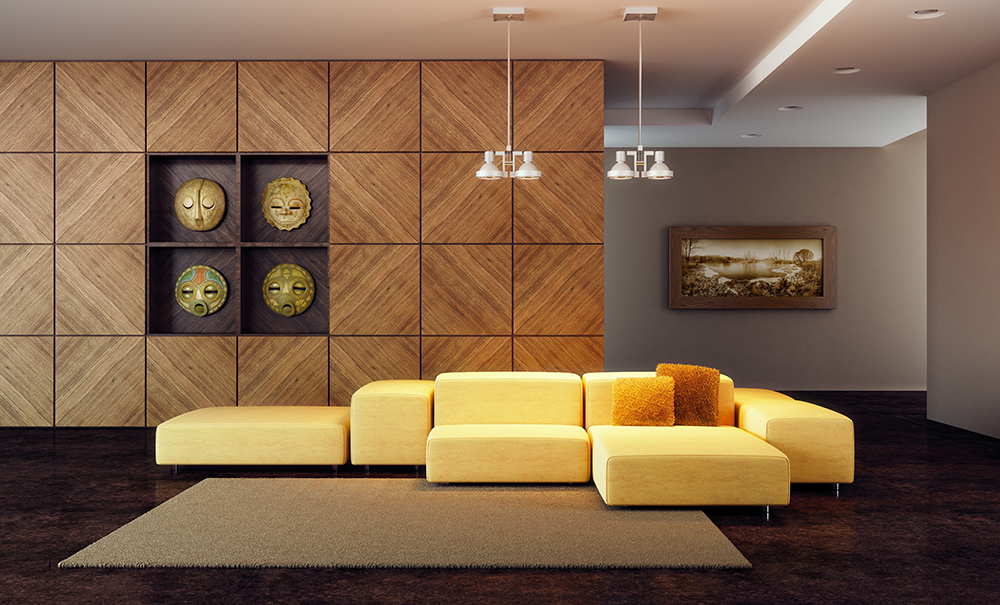 Панели для дизайна интерьера